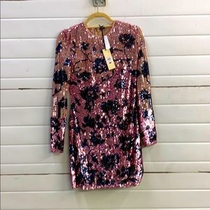 Topshop sequence dress. NWT. US6 Fits like Small.